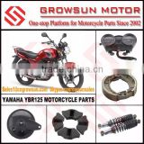 Yam. YBR125 Motorcycle Parts/Speedometer/Brake Shoe/Rear Shock Absorber/Hub Damper/Hub Cover