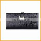 Cheaper Fashion Crocodile Genuine Leather Women Wallet Ladies Wallets china wholesale                                                                         Quality Choice