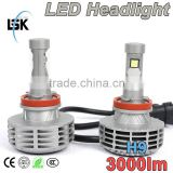 China factory direct top quality newest G6 led headlight replace halogen bulb h4,h13,h7,h10