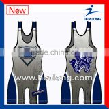Lycra Custom High Qulicty Cheap Men Wrestling Jersey Shirt Clothing
