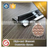 bright color stainless steel expansion joint movement joint bead