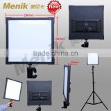 SH-42WA ultra-thin LED panel Video light with soft side beam(color temperature adjustable version) (NEW)