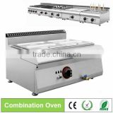 commercial restaurant stainless steel Counter Top Gas Food Bain Marie/food warmer