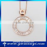 Pendants or Charms Jewelry Type and Zinc Alloy Material Type crystal pendant