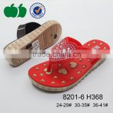 Popular hot sale high quality latest summer fashion girl slippers