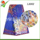 new 2016 latest dress designs african lace fabrics royal blue ankara riche wax patterns printed lace