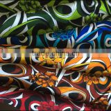 Textile fabrics new design beautiful floral pattern printed rayon gauze fabric