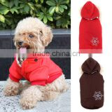 New Winter Cute Warm Thick Dog Pet Clothes Hoodie Apparel Dog Coat Costumes Detachable Hat SV013357