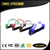 Onlystar GS-4063 LED flashing arm band elastic led running arm band safety light wristband