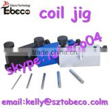 Tobeco atomizer coil jig, cheapest atomizer coil jig,silver/black/blue/gun coil jig with fast delivery