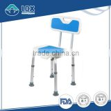 Hot product! Shower seat bath chair with backrest