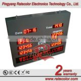 Outdoor 1.8 inch LED digital Currency Exchange Rate Display Board