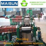 two roll refiner mill; reclaim rubber plant