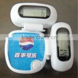 Card pedometer ,wristband pedometer ,pedometer and calorie counter,body fat analyser pedometer