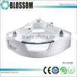 Transparent glass whirlpool massage mini bathtub jets bath tubs