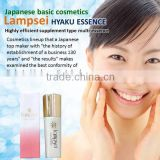 """Easy to use and Reliable multi purpose beauty lotion with multiple functions made in Japan"" can approach the dermis of skin."