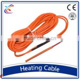 24K silicon rubber insulated carbon fiber conductor wire under heating cable Snow Melting Heating Cable
