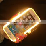 Power Bank function mobile phone led light sticker for Iphone&Samsung led phone case