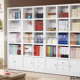Modern Particle Board, Plywood, MDF Library Book Shelves, Library Bookshelves