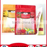 FDA Approved Custom Logo Printing Resealable Vacuum Sealing Zip Lock Plastic Food Bags