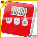 Digital digit 100 Minute Timer w/Magnetic Clip timer for refrigerator - Red, Batteries Included,Buzz, Beep, and LED