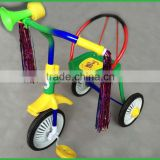 A simple cheap tricycle vehile is made of iron frame kids tricycle from specialty manufacturer of China