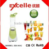 multi-function 300W stainless steel blades electric portable travel juicer personal mini blender