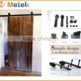 stainless steel sliding wood barn door hardware