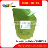 bulk toner powder for Bizhub 185 195 215 235 7723 7719