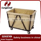 Good quality hotel housekeeping maid cart trolley manufacturer