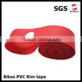 PVC rim tape for bicycle tires