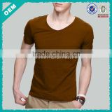 Cotton elastic t-shirts blank dri fit t-shirts wholesale fashionable shirts in China (lyt0300027)