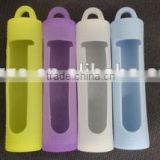 Colorful Silicone 18650 battery holder wholesale battery carrying case portable single 18650 battery case