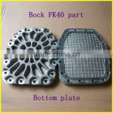 Bus Air Conditioner AC Compressor bock bottom plate,2015 christmas product bock fk40 spare part bottom plate