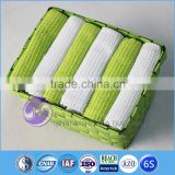 china wholesale yarn-dyed waffle weave cotton basket tea towel