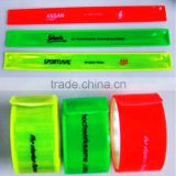 New product 2015 glow stick bracelet/ custom slap wrap bracelet/ led slap bracelet