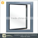 2015 Superhouse wholesale aluminum casement window with double glass comply with Australian Standards