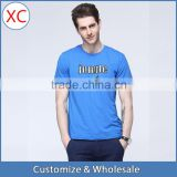 2016 Summer Bamboo fiber Custom t shirt Wholesale China,Round Neck Bamboo T shirt for man