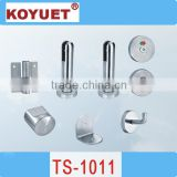 High quality Precision Casting304 Pure Stainless steel cubicle hardware Floding Door Lock
