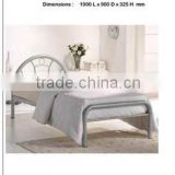 spring single bed furniture, cheap metal bed for bedroom ,China 2013 design