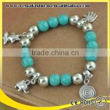 turquoise nepal wholesale pictures of beaded bracelets                                                                         Quality Choice