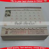 Wholesale Professional Calendar printing table/desk Calendar