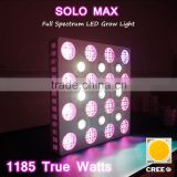 Newest Veg Bloom Switchable SOLO MAX LED Grow Light 1200w with Full Spectrum COB New Arrival 2016