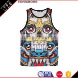 Gold supplier Gym Tank Top/ Custom Printed Stringers vest/ T-Back Singlets                                                                         Quality Choice