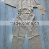 YIDU 80%polyester and 20%cotton working uniform COVERALL