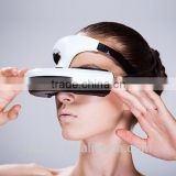 High quality vr 3D video glasses,VR all-in-one OLED lents head-mounted wifi private cinema glasses