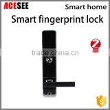 ACESEE door alarm lock home automation security system wifi mobile phone remote support