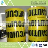 Customizable reinforced underground detectable warning tape