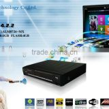 iptv Hot DVB-S2 Android 4.2 TV BOX 1G 4G with 2.4G Remote Control WIFI