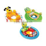 Inflatable See Me Sit Pool Ride for Age 3-5 /Type Animals Inflatable Ring/Inflatable Ring Supplier